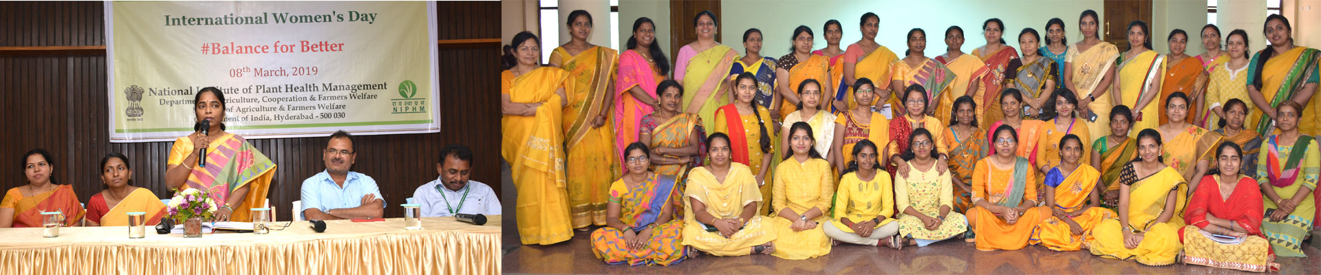International Women's Day Celebrations at NIPHM
