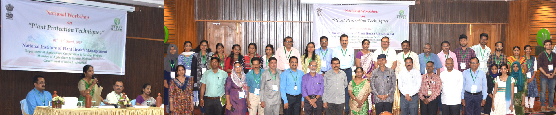 National Workshop on Plant Protection Techniques