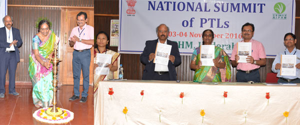 National Summit of PTLs held @ NIPHM