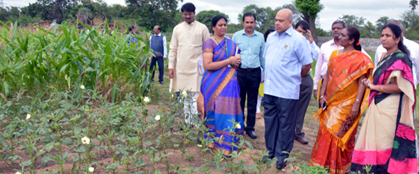 Field visit by Hon'ble Secretary