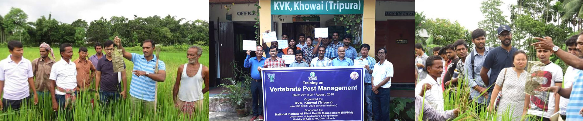 Vertebrate Pest Management Training - Tripura